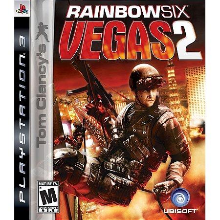 PS3 Tom Clancys Rainbow Six Vegas 2 [USADO]