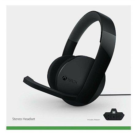 Xbox One Stereo Headset com fio Original Microsoft