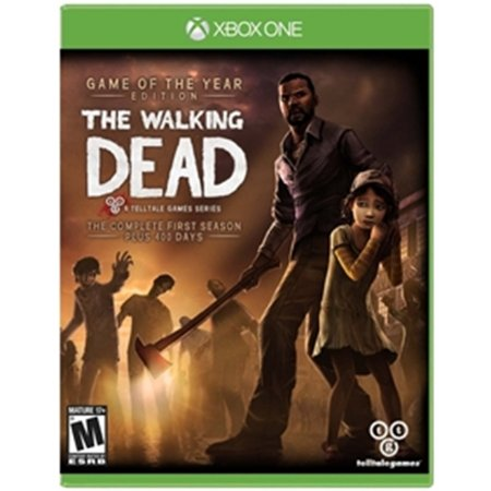 Xbox One The Walking Dead Game of the year edition [Inclui a primeira temporada + 400 dias]