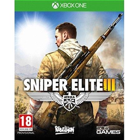Xbox One Sniper Elite 3