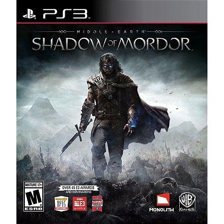 PS3 Middle Earth: Shadow of Mordor [USADO]