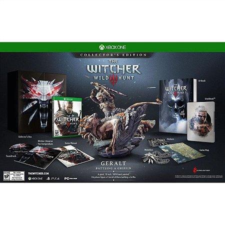 Xbox One The Witcher 3: Wild Hunt Collectors Edition [Totalmente em Português]