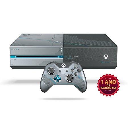 Xbox One 1TB Edição Especial + Halo 5: Guardians