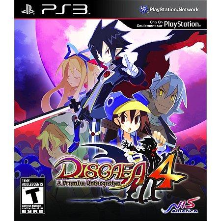PS3 Disgaea 4 - A promise Unforgotten [USADO]