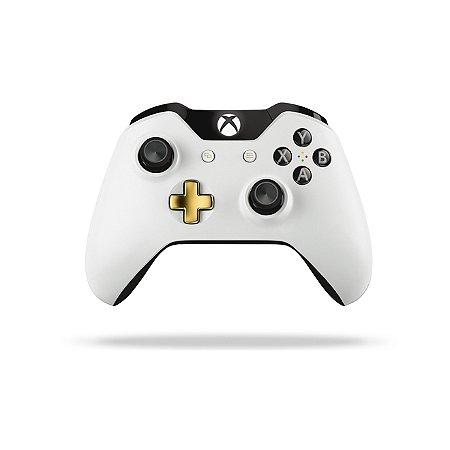 Xbox One Controle sem fio original Lunar White
