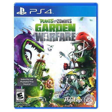 PS4 Plants vs Zombies: Garden Warfare [Jogo funciona somente online][USADO]