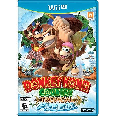 Nintendo WiiU Donkey Kong Country:Tropical Freeze [USADO]