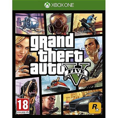 Xbox One Grand Theft Auto V [USADO]