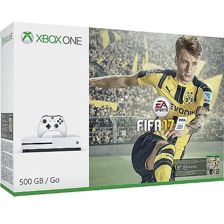 Xbox One Slim 500 GB + FIFA 17