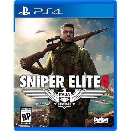 PS4 Sniper Elite 4 [USADO]