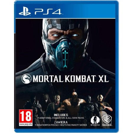 PS4 Mortal Kombat XL [USADO]