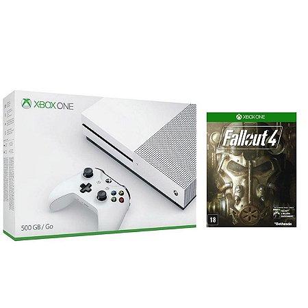 Xbox One S 500 GB Slim + Fallout 4
