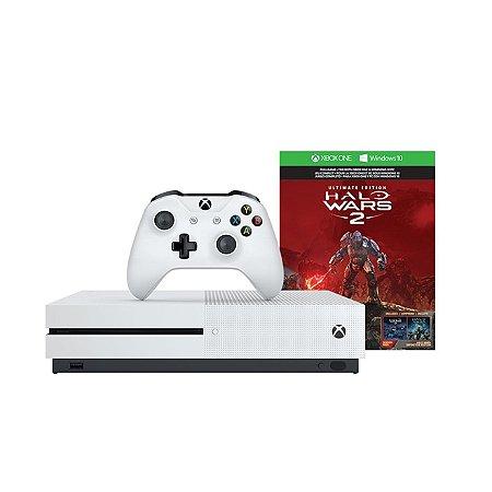 Xbox One 1 TB + Halo Wars 2