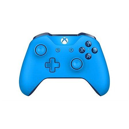 Xbox One Controle Sem Fio Modelo S Bluetooth Grooby Blue