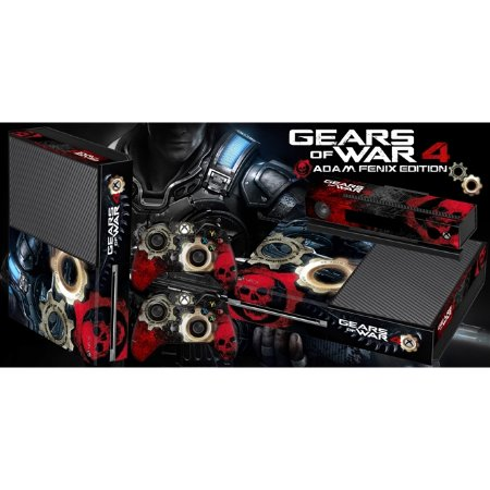 Xbox One Fat Skin - [Película decorativa] Gears of War 4