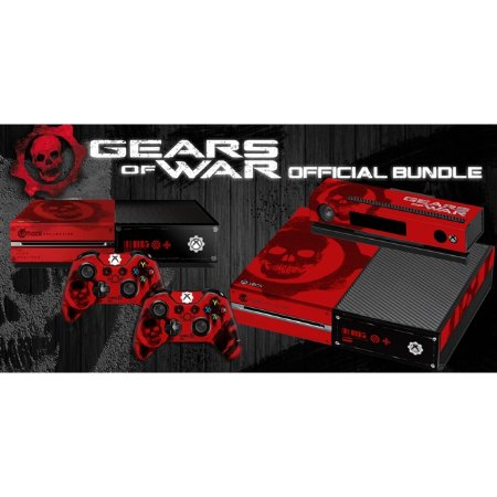 Xbox One Slim Skin - [Película decorativa] Gears of War Bundle