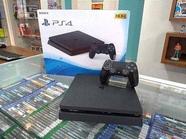 PlayStation 4 Slim 500 GB Seminovo