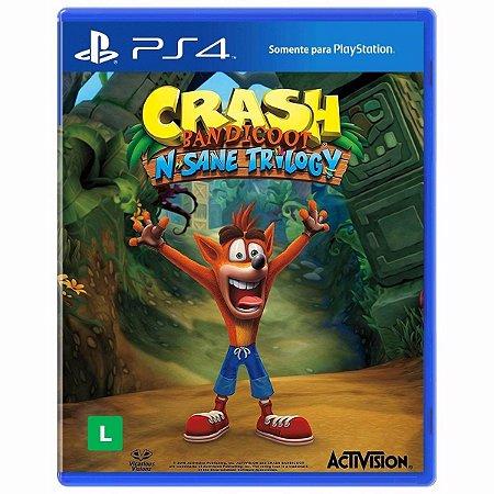 PS4 Crash Bandicoot N. Sane Trilogy [USADO]