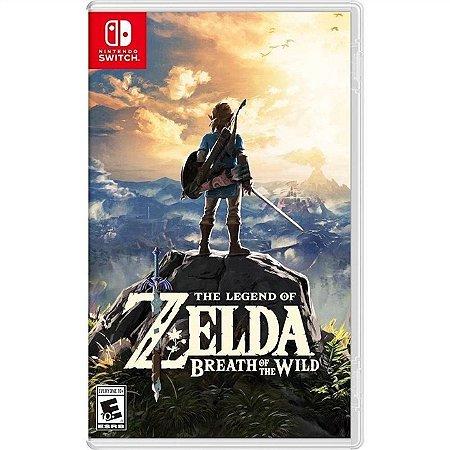 Switch The Legend of Zelda: Breath of the Wild [USADO]