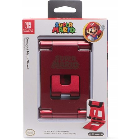 Switch Compact Metal Stand Super Mario PowerA