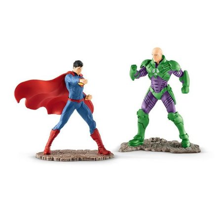 Estatueta SUPERMAN VS LEX LUTHOR DC Comics Schleich #14