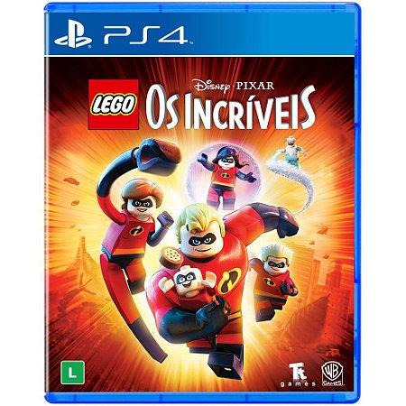 PS4 LEGO Disney Pixar Os Incríveis