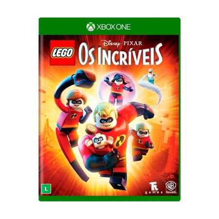Xbox One LEGO Disney Pixar Os Incríveis