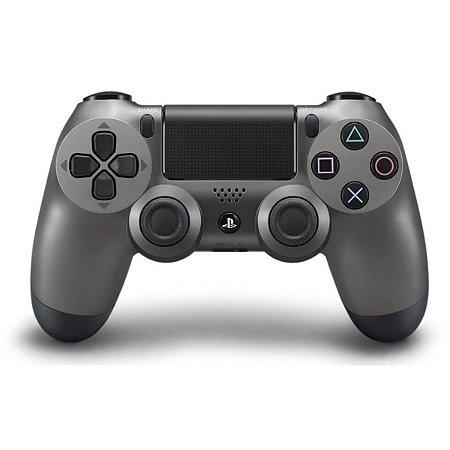PS4 Controle Dual Shock 4 Chumbo Steel Black