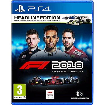 PS4 F1 2018 HEADLINE EDITION
