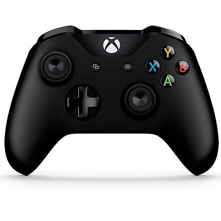 Xbox One Controle Sem Fio Modelo S Bluetooth Preto Seminovo