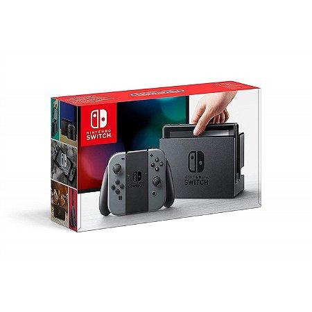 Nintendo Switch (Joy-Con Cinza) Sistema SX PRO + Micro SD 128GB + Jogos de brinde [Seminovo]