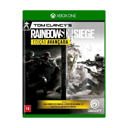 Xbox One Tom Clancy's Rainbow Six Siege Edição Avançada