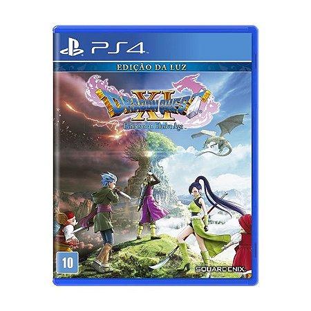 PS4 Dragon Quest XI Echoes of an Elusive Age Edição da Luz