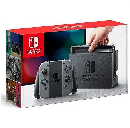 Nintendo Switch (Joy-Con Cinza) Sistema SX PRO + Micro SD 128GB + 15 Jogos de brinde