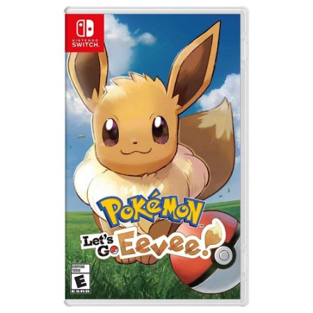 Switch Pokemon: Lets Go Eevee
