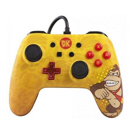 Switch Controle Com Fio Donkey Kong Power A