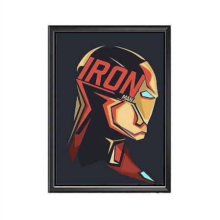 Quadro Iron Man (Homem de Ferro)