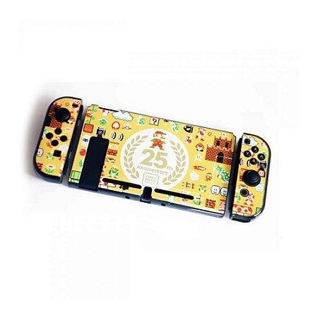 Switch Capa de Proteção de Acrílico 25th Super Mario Bros