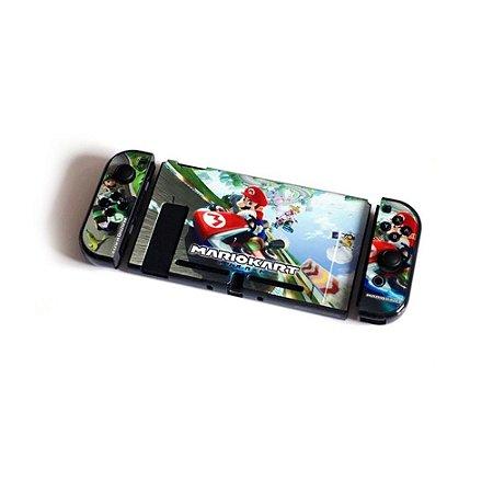 Switch Capa de Proteção de Acrílico Mario Kart