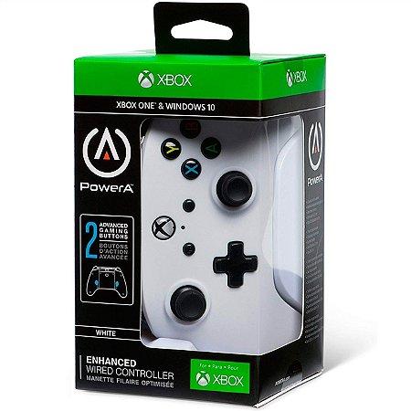 Xbox One Controle Com Fio Vermelho Power A