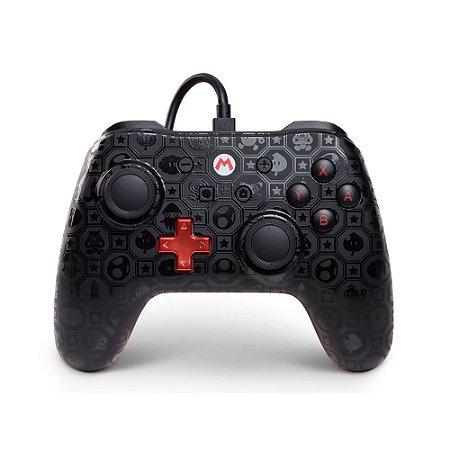 Switch Controle Com Fio Mario Shadow Power A