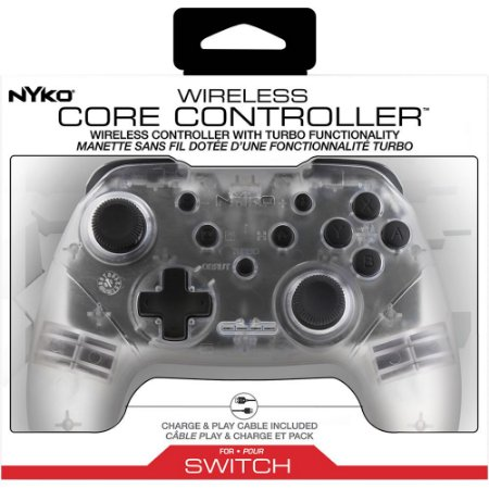 Switch Controle Sem fio Wireless Core Controller (Clear) Nyko
