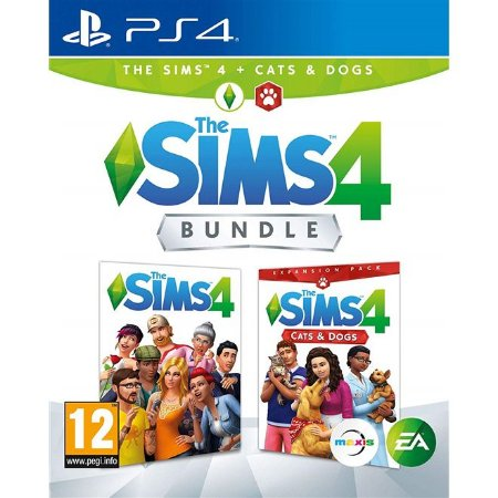 PS4 The Sims 4 Bundle Pets [Gatos e Cães]