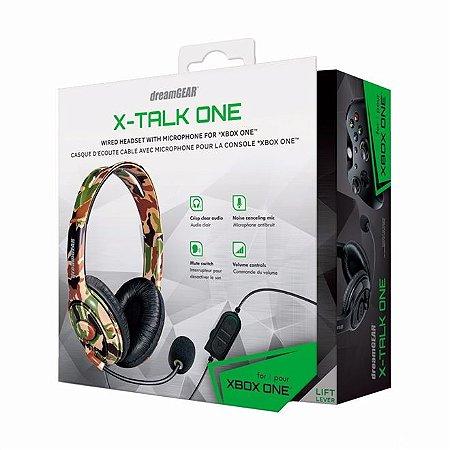 Headset DreamGear X-talk One Camuflado [XBOX ONE, PS4, SWITCH]