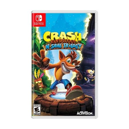 Switch Crash Bandicoot N. Sane Trilogy [USADO]