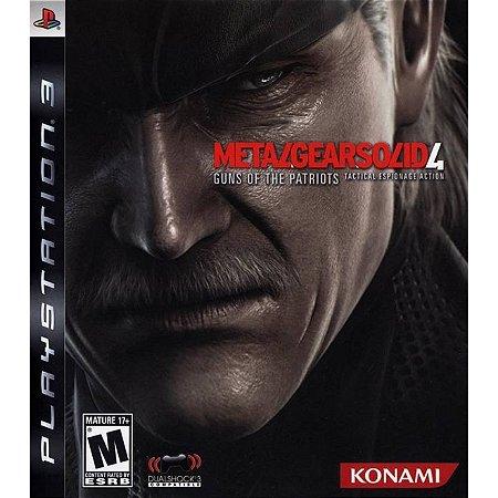 PS3 Metal Gear Solid 4 Guns of Patriots