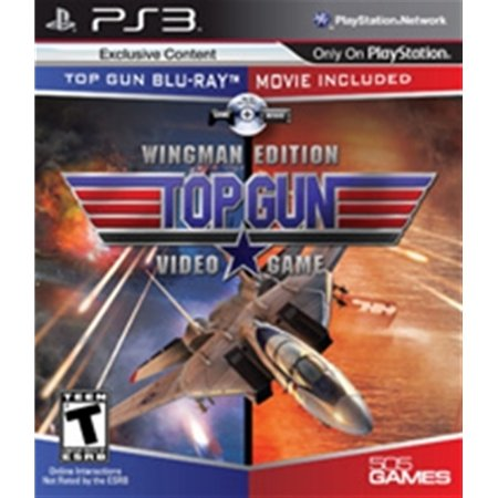 PS3 Top Gun Hybrid & Blu-Ray Movie