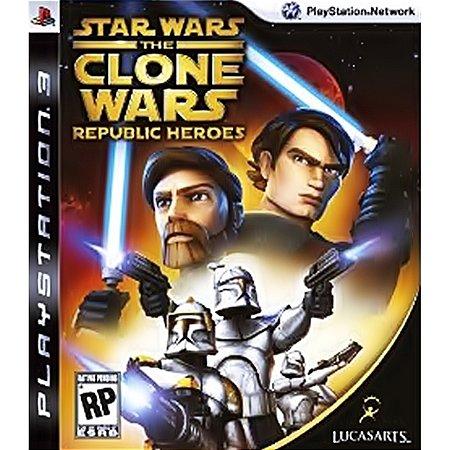 PS3 Star Wars: Clone Wars Republic Heroes [USADO]