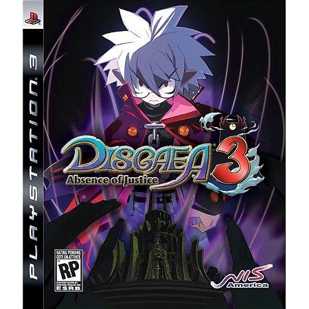 PS3 Disgaea 3 Abscence of Justice [USADO]