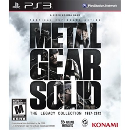 PS3 Metal Gear Solid: The Legacy Collection [USADO]